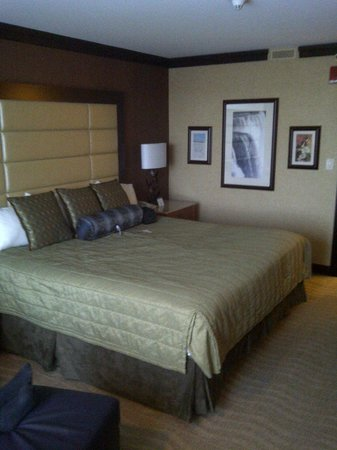 Seneca Niagara Resort & Casino:                   Nice comfortable bed