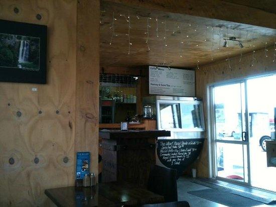 The Wharf Coffee House and Bar: inside the cafe