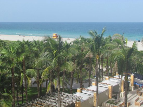 Marriott Stanton South Beach: Vista para a praia