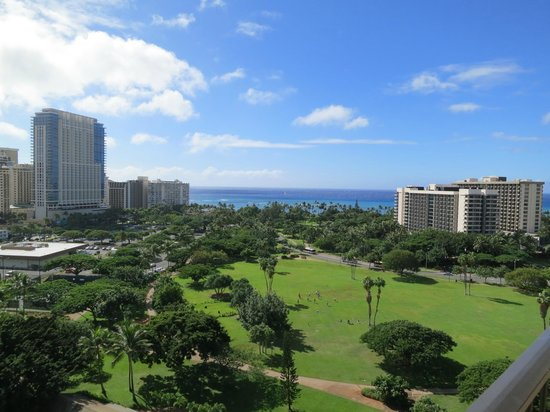 Luana Waikiki Hotel & Suites:                   View from our room
