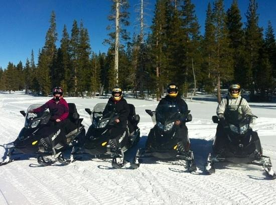Eagle Ridge Snowmobile Outfitters :                   First timers
