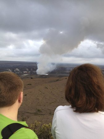Kilauea Lodge:                   crater viewing only a few minutes drive from hotel