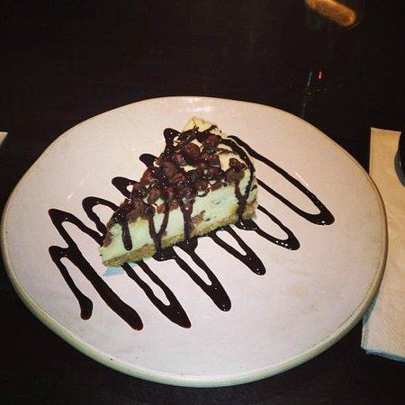 Chimichanga:                   Honeycoomb cheesecake