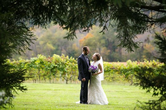 Four Sisters Winery at Matarazzo Farms: Weddings overlooking the vineyards