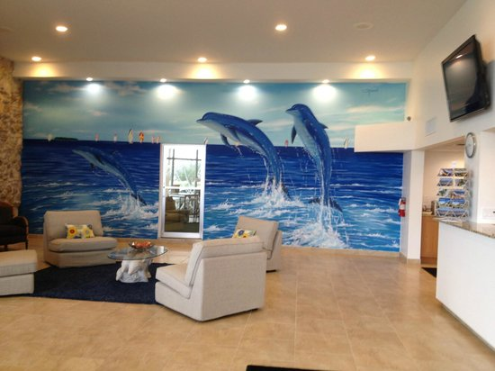 Dolphin Key Resort: Lobby