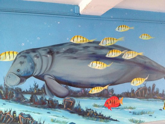 Dolphin Key Resort: Murals by Yoslin O'Farrill