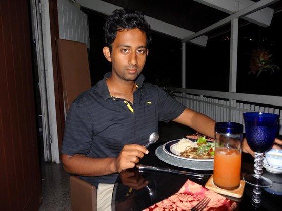 Neita's Nest :                   Dinner at Neita's
