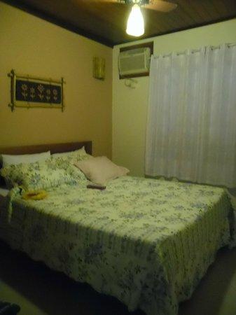Refugio Tropical Pousada & Flats: Quarto casal.
