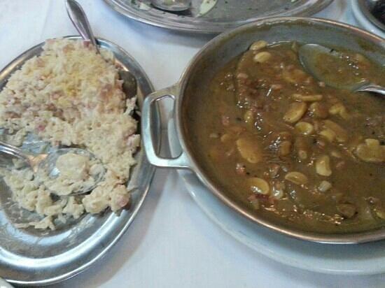 Restaurante Olivinho: Escalopinho ao madeira com arroz a piomontese