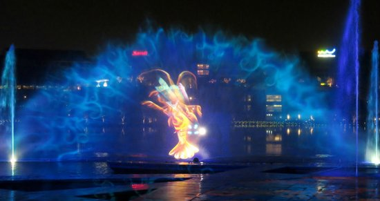 OCT Bay Water Show