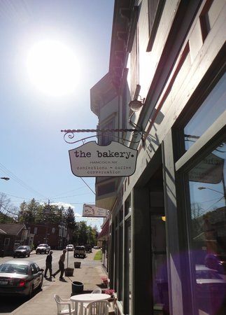 The Bakery: 167 East Front Street looking West.