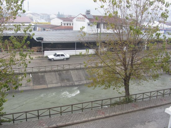 Hotel Beyaz Cicek: View from the balcony