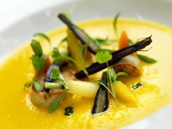Langar Hall Restaurant: Carrot Soup
