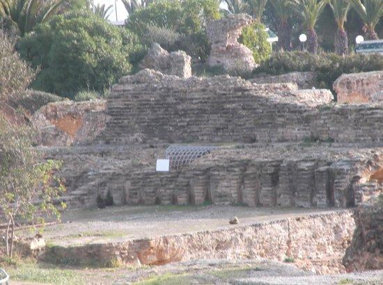 Ancient Roman Baths:                   More ruins
