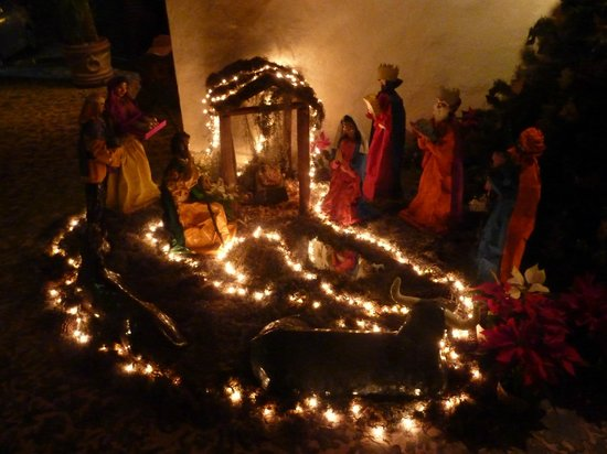 Aura del Mar Hotel : Lovely nativity scene