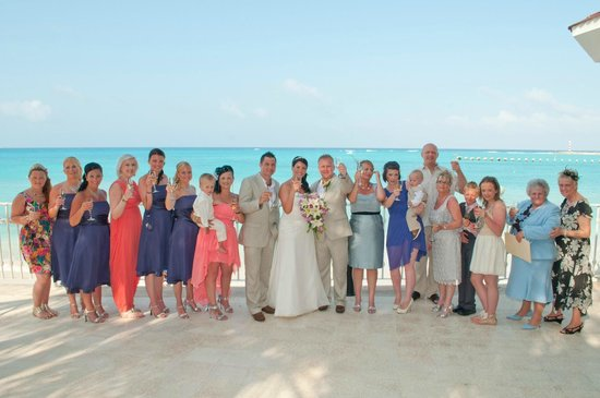 Hotel Riu Cancun Wedding At