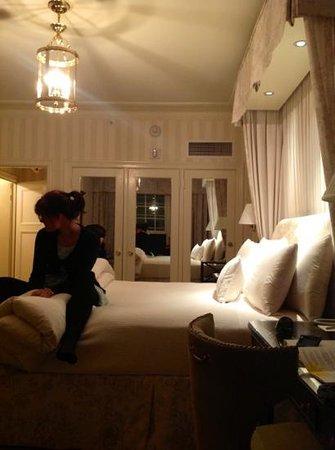 The Hay-Adams:                   master bedroom