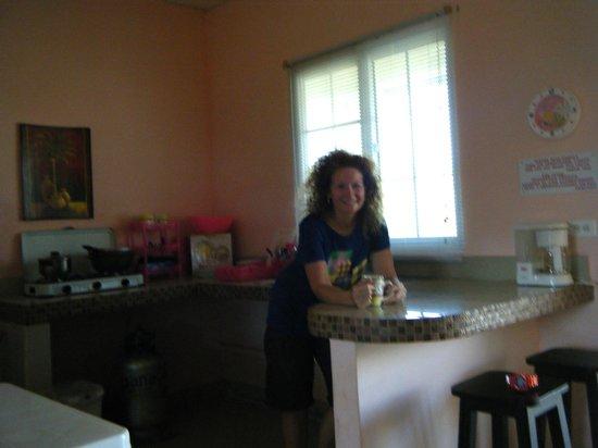 Sherlley Cabins:                   nice kitchen