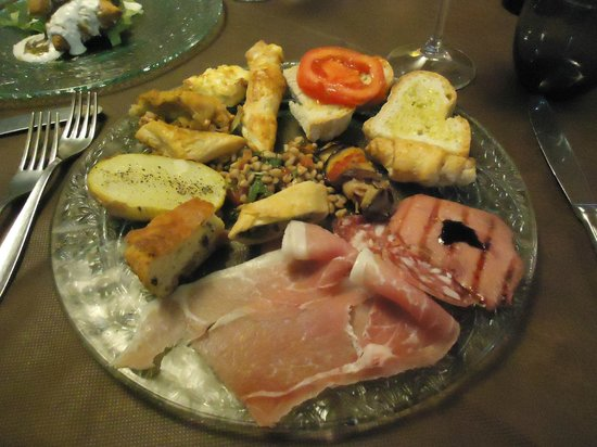 Locanda le Due Querce: antipasto