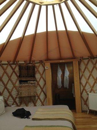 Patagonia Camp: yurt