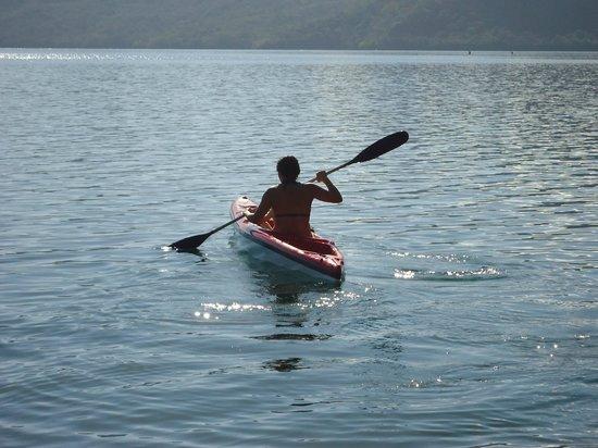 Hotel Selva Azul: Kayak