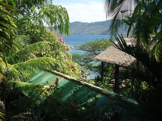 Hotel Selva Azul: morning coffee view