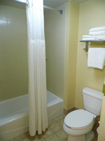 Staybridge Suites Indianapolis-Airport :                   Bathroom........