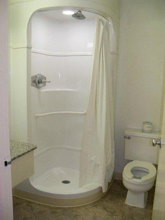 Americas Best Value Inn - Lake City :                   shower