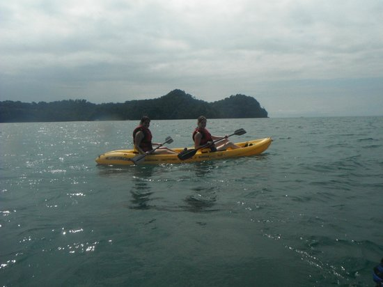 H2O Adventures:                   Kayaking on the pacific