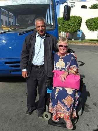 Island View Resort:                                     the intersite bus driver, our long standing friend, always s
