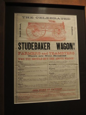 Studebaker National Museum: sign