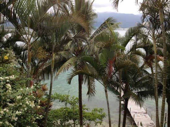 Barra do Piuva Porto Hotel: Mais uma da vista do quarto, do deck