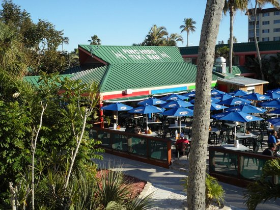 Wyndham Garden Fort Myers Beach: Tiki Bar on site