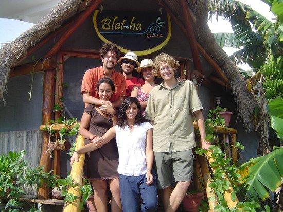 كازا بلاثا: The staff at Casa BlatHa 
