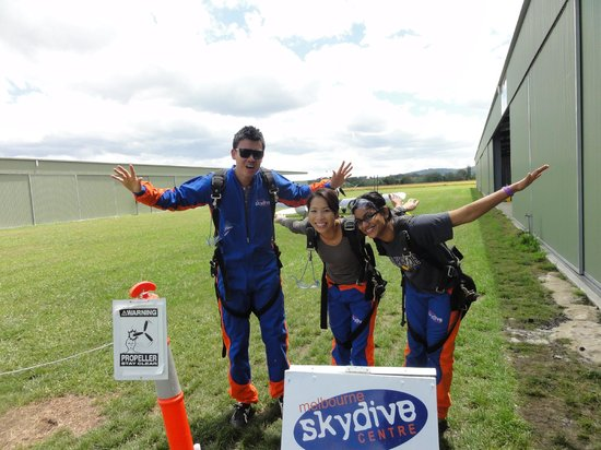 Skydive Yarra Valley:                   Is this what you do up there?