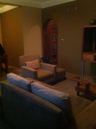 Hotel Premier : living room