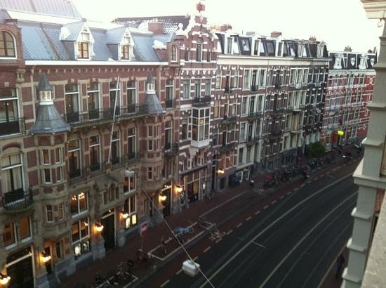 Hotel La Boheme:                   view from window