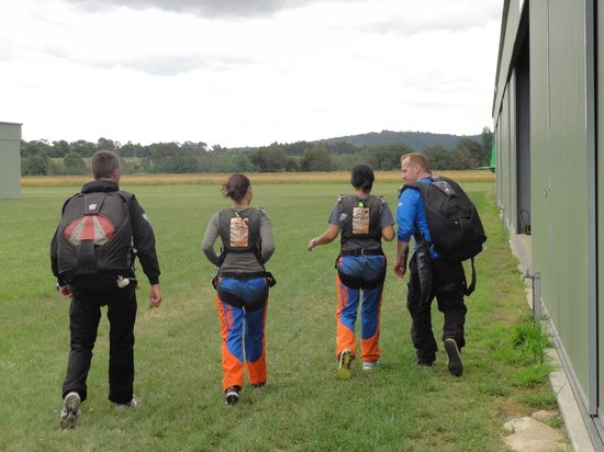 Skydive Yarra Valley:                   Okay lets do this!