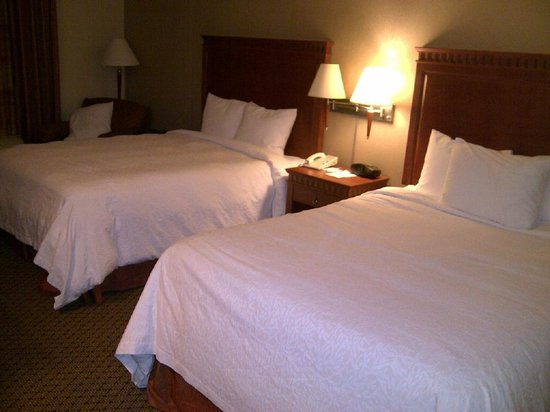 Hampton Inn And Suites Montreal :                   Comfortable beds