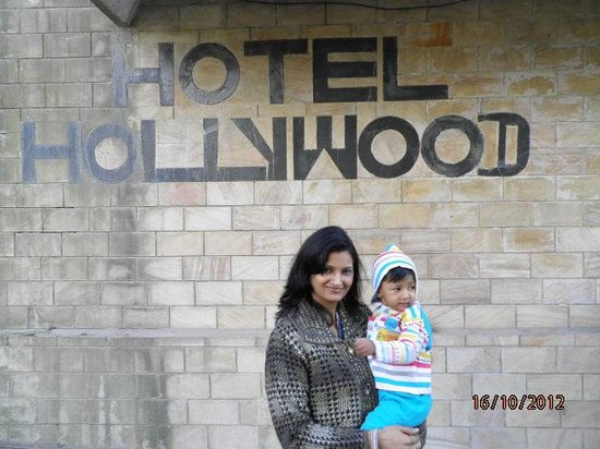 Hollywood Hotel:                                     Little Ani with my beloved