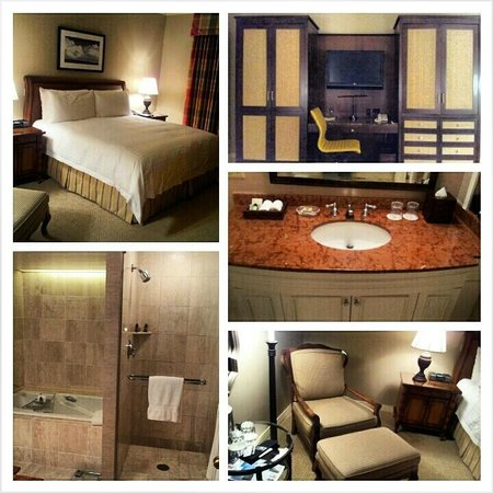 Four Seasons Resort and Club Dallas at Las Colinas:                   Pics of my room
