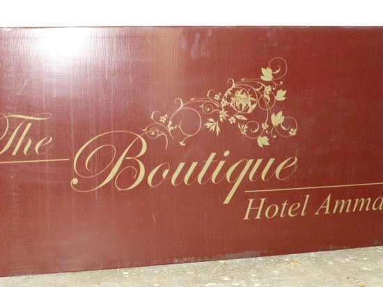 The Boutique Hotel Amman:                   the Boutique Hotel