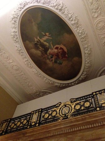 Hotel Cafe Royal:                   Entrance Hall (not quite complete)