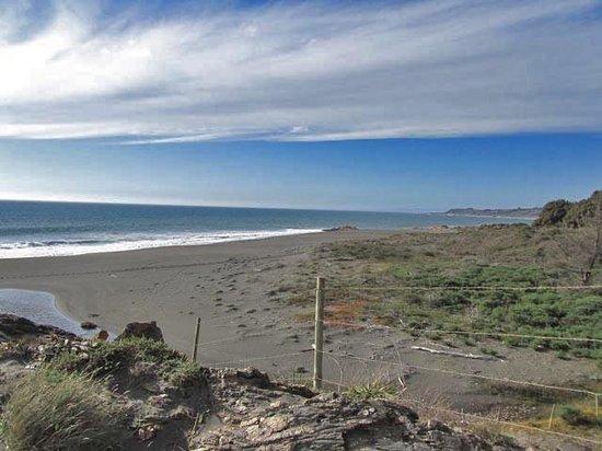 Maule Region, Chile: Oceanside View
