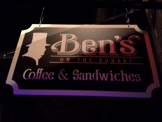 Ben's on the Square Coffee:                                                       Bens on the Square coffee