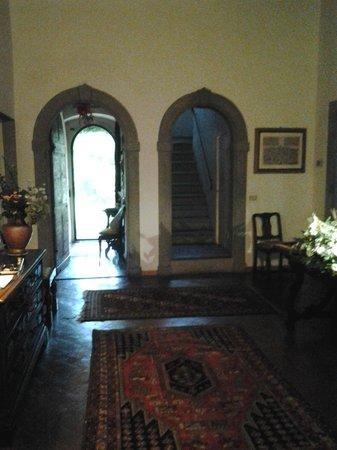 Villa Malavolta:                   The Foyer