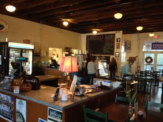 Cafe at Williams Hardware: Inside