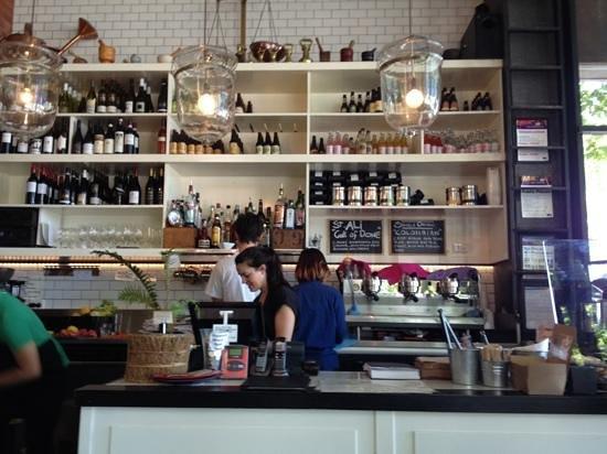 Golden Fields: the coffee bar