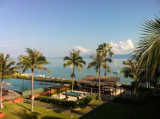 Hansar Samui Resort : View from 3rd lvl XL seaview room