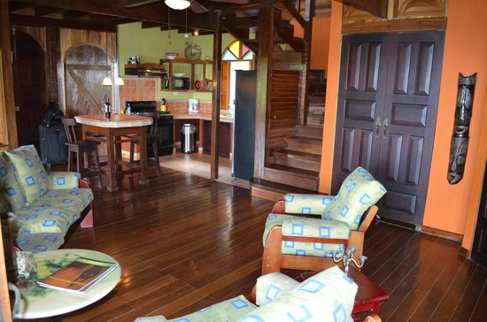 Samasati Retreat & Rainforest Sanctuary:                   Living area